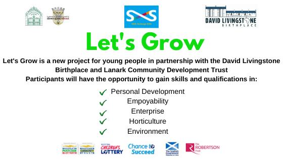 Let's Grow Programme Skills Exchange SCIO